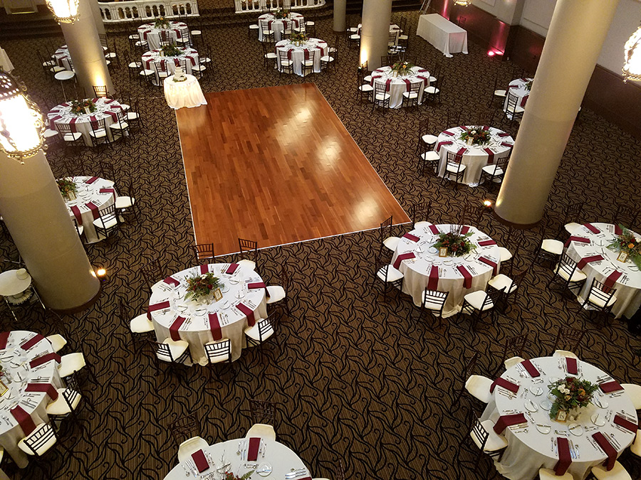 Pittsburgh S Grand Hall At The Priory Pittsburgh Wedding